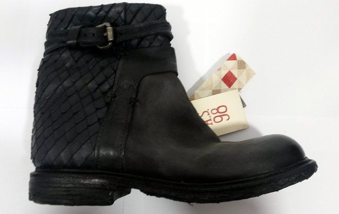 huge selection of 42a1a a4a99 A.S. 98 Airstep Boots smoke/nero Gr. 41: Amazon.de: Schuhe ...
