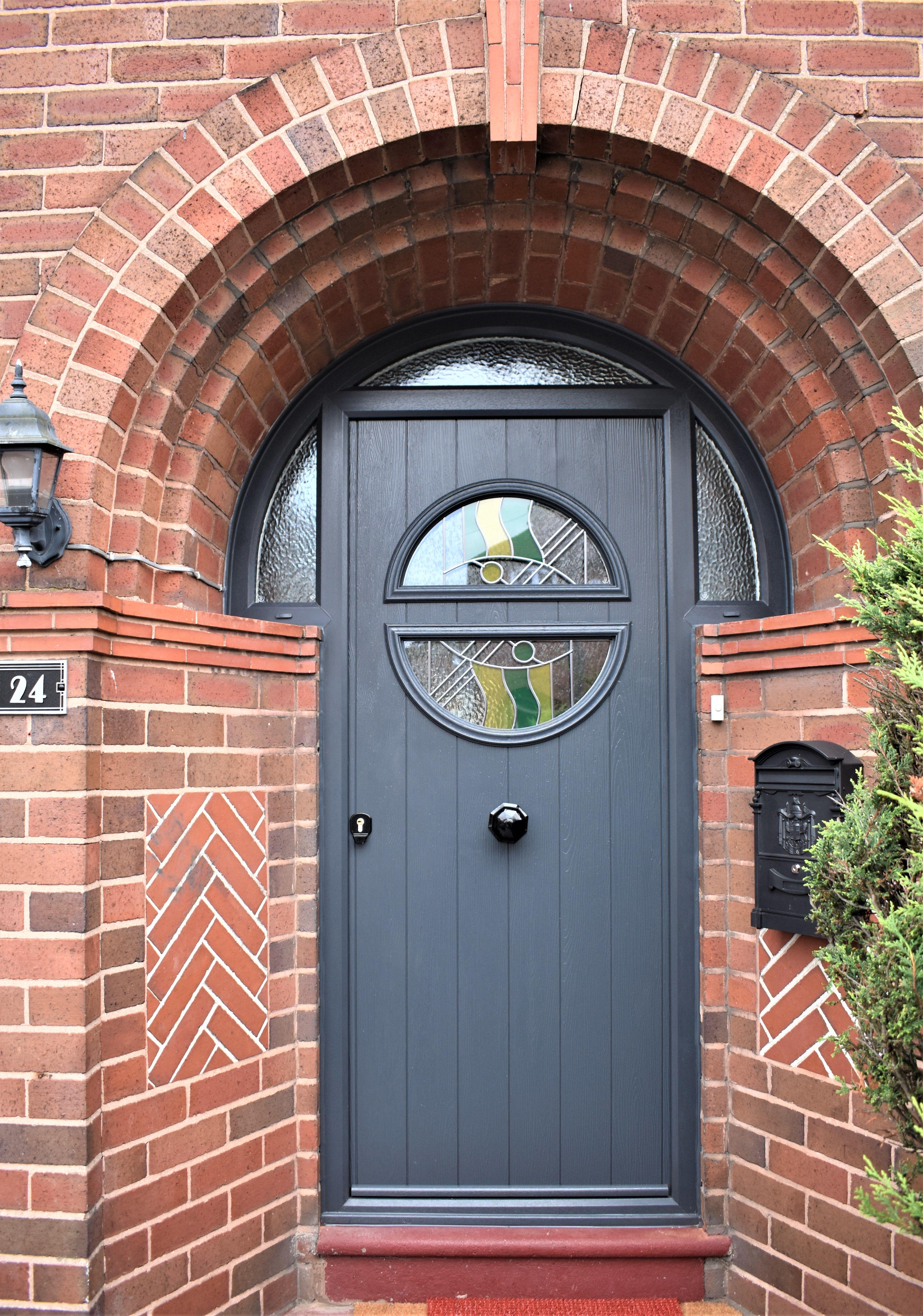 Arched Composite Front Door Composite Door Composite Front Door Door Installation