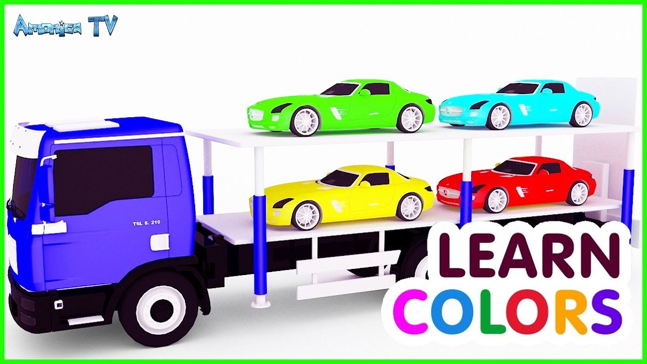 Colours For Children With Small Cars Car Cartoon Best Videos For Toddlers Learn Colors Toddler Learning Learning Colors Coloring For Kids