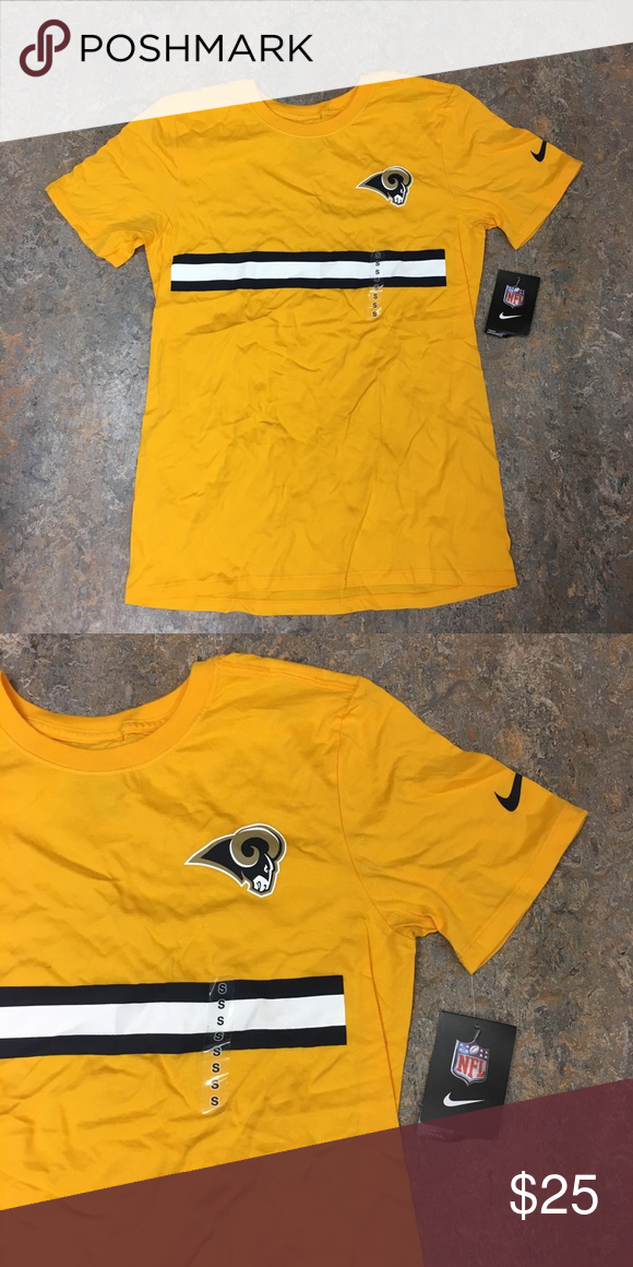 04b2c8e60 Los Angeles Rams Nike Stripe Color Pack T-Shirt Los Angeles Rams Nike Team Stripe  Color Pack T-Shirt. Save money by bundling with other items in my store.