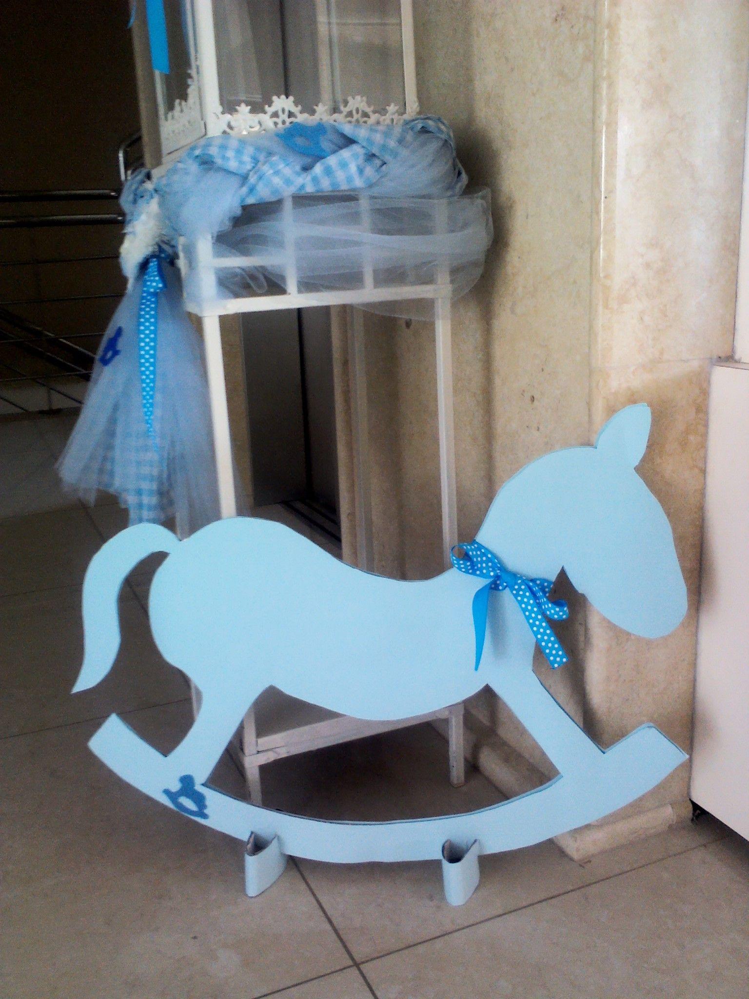 Christening decorations - carousel theme