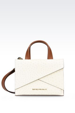 Bags: Top handles Women by Armani - 1