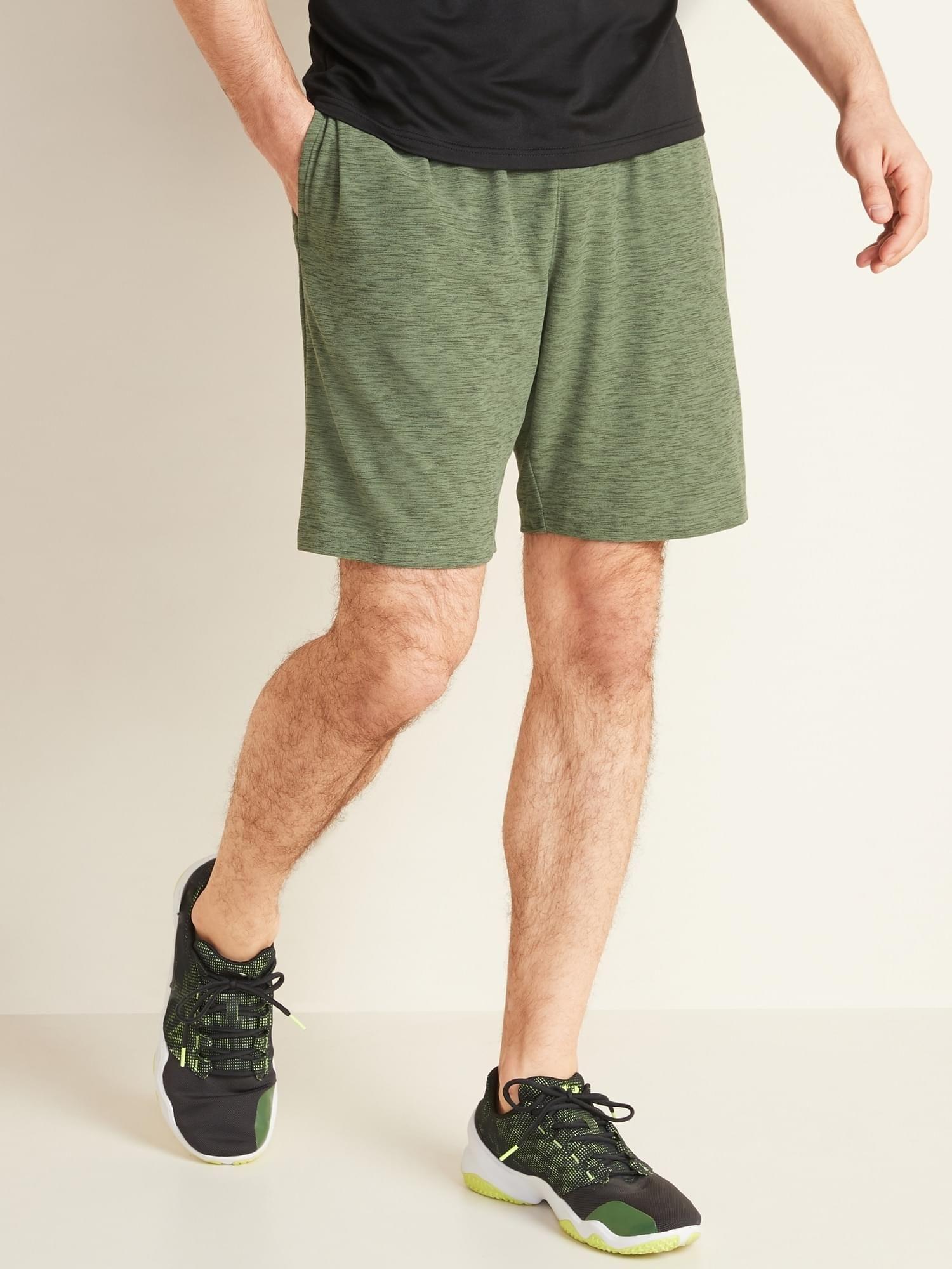 UltraSoft Breathe ON Shorts for Men 9inch inseam in