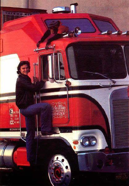 /& the Bear Truck Model Kit Greg Evigan Great Original 1981 Print Ad B.J