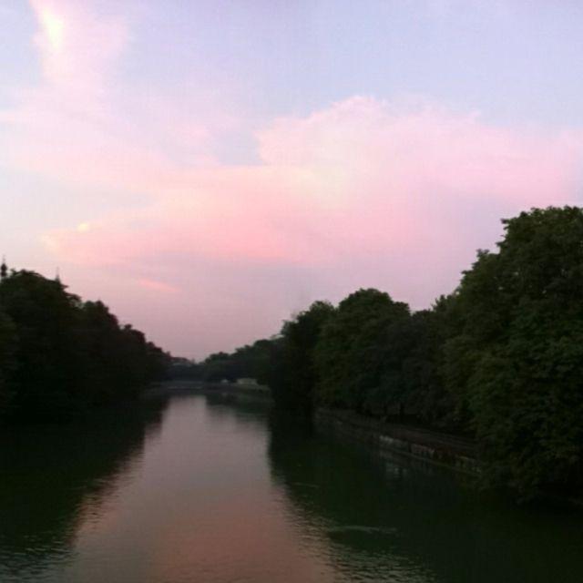Sundown over Munich made with DMD App #panorama