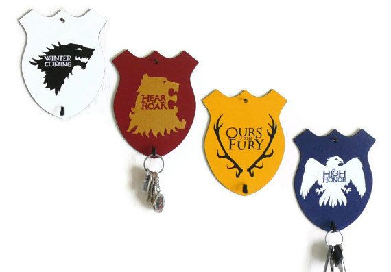 Key Rack Song Of Ice And Fire House Sigils Stark Arryn