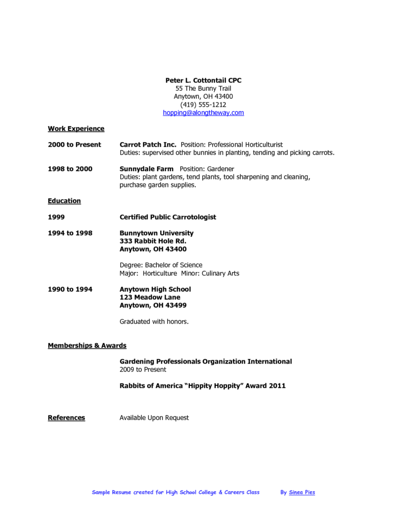 Whether You School College Leaver Recent Graduate This Resume