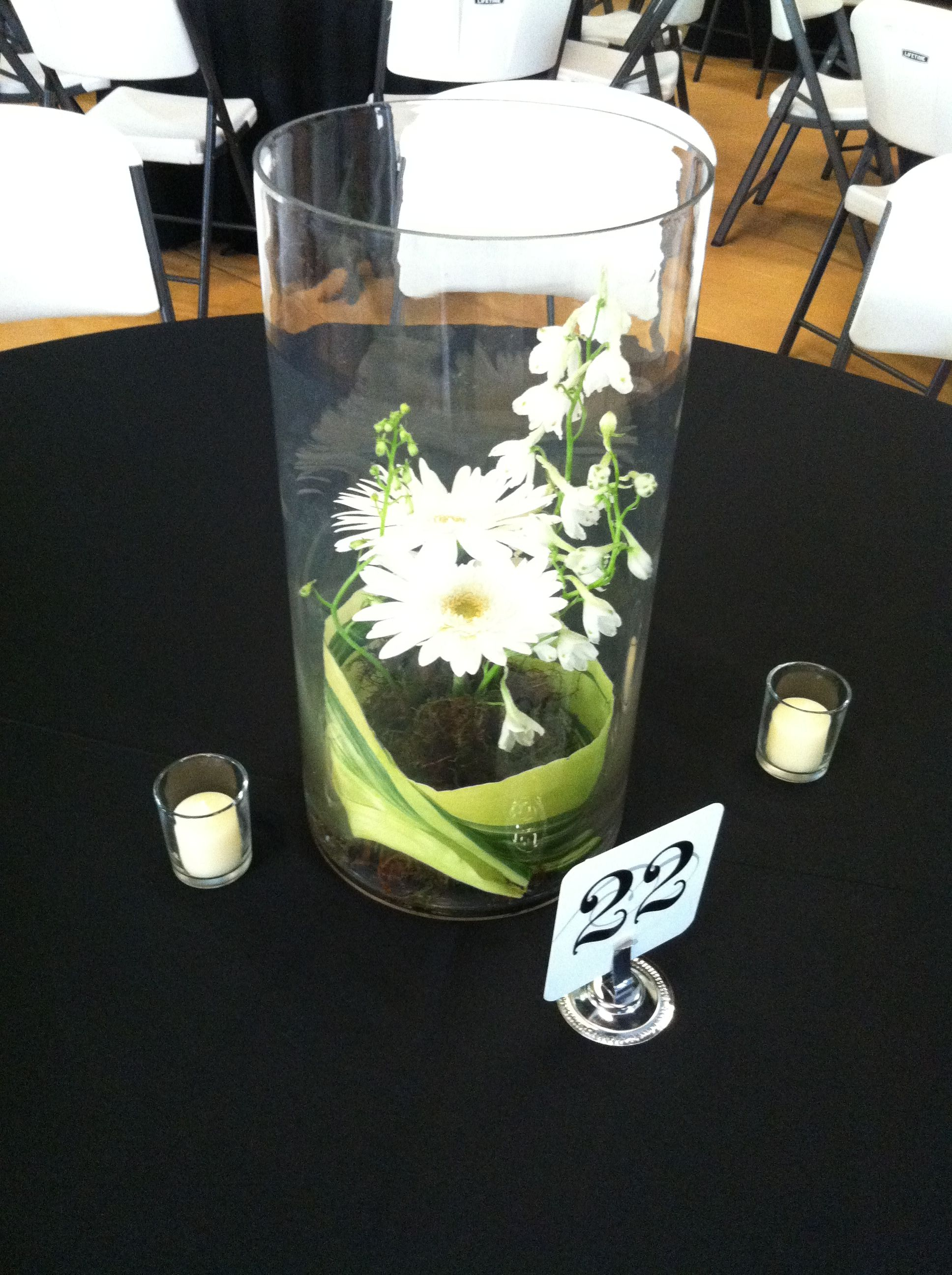 Centerpiece from paula coleman with elite event inc