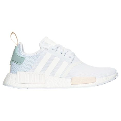 Women\u0027s adidas NMD Runner Casual Shoes | White/Tactile Green
