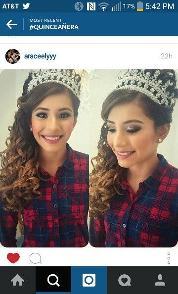 Quinceanera Hairstyles On The Side : Quinceanera hairstyle quinceanera pinterest