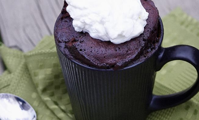Keto Nutella Mug Cake | Low carb mug cakes, Nutella mug ...