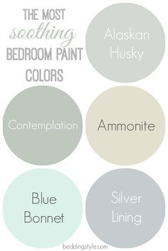 Soothing Bedroom, Soothing Paint Colors, Wall Color, Ladera Paint ...