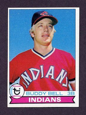 Buddy Bell of the Cleveland Indians