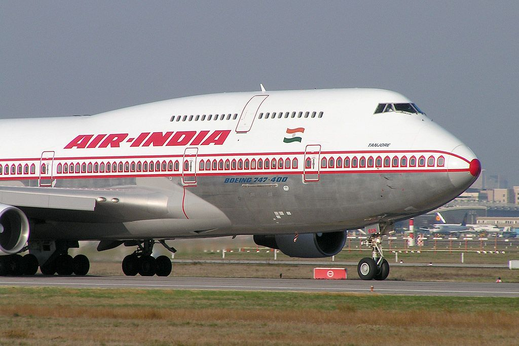 Air India / IC. Airlines operating flights into Doha, Qatar (DOH). photo: top news in.