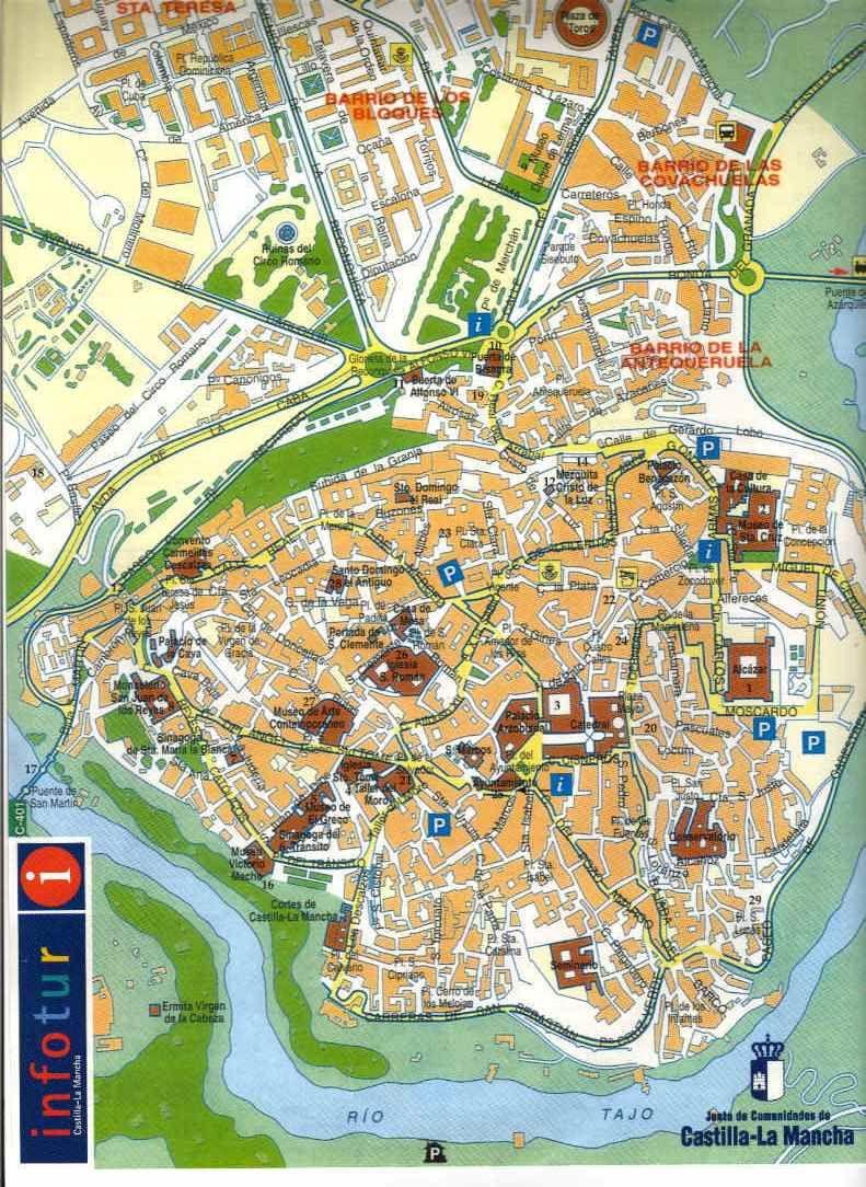 Toledomap TOLEDO Pinterest Spain