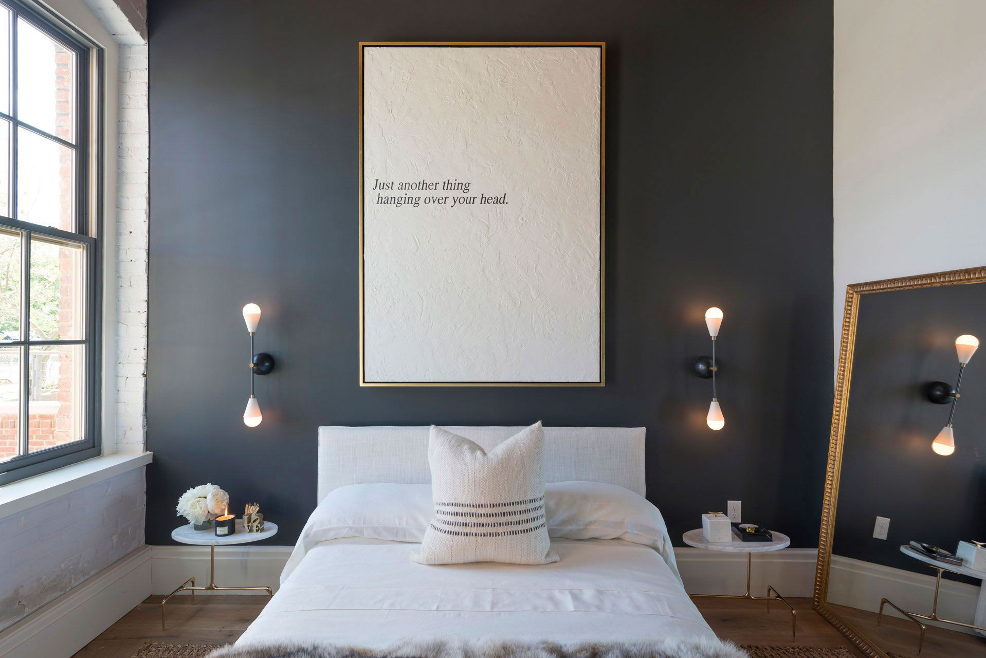 Decorar con paredes negras tus estancias de estilo n rdico - Decorar estilo nordico ...
