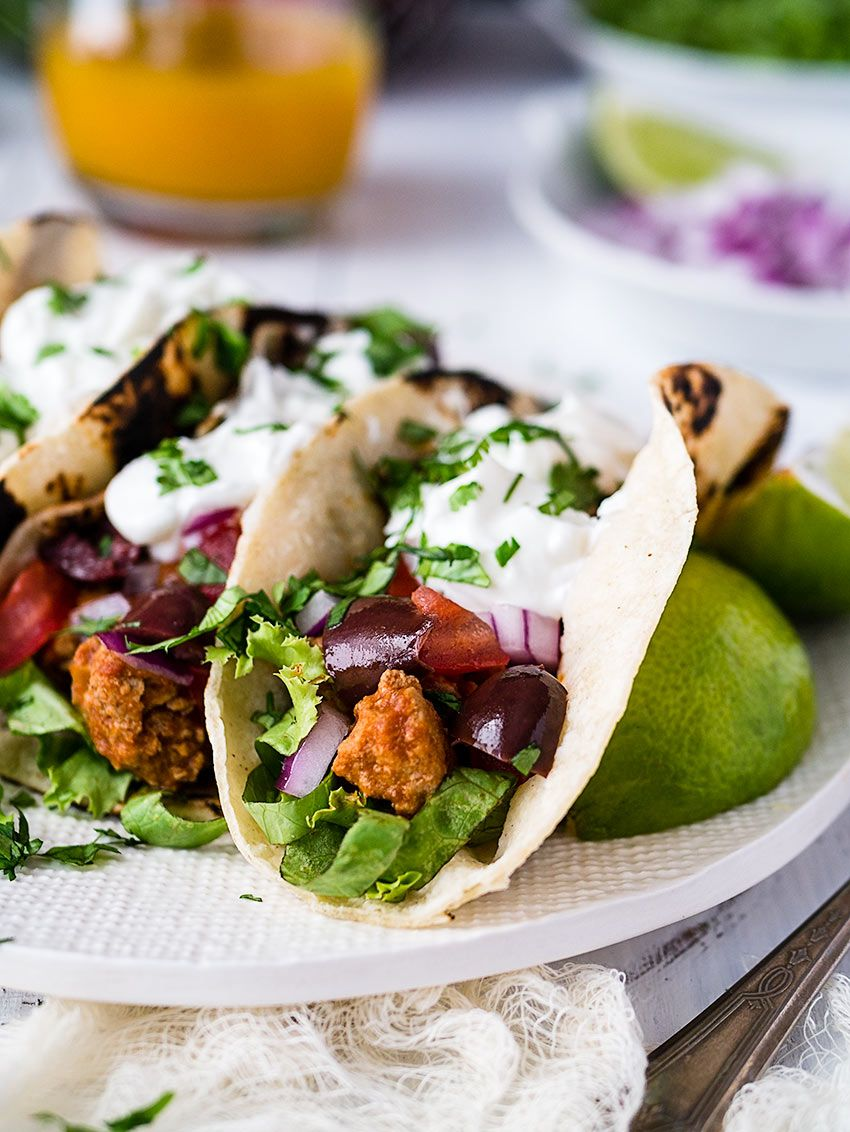 Healthy Ground Turkey Tacos #groundturkeytacos