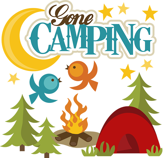 Gone Camping SVG File For Scrapbooking Svgs Outdoors Svg Cut Files Free