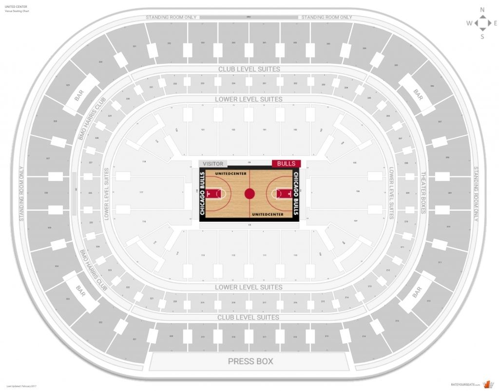 Spectrum Center Seating Chart With Seat Numbers