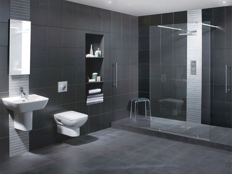 Very Modern And Sleek Inspiring Ideas Wet Room