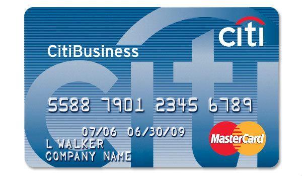 CitiBusiness Credit Card Features Cash rewards credit cards