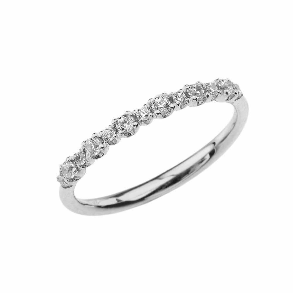 Pin On White Gold Plated Diamond Ring