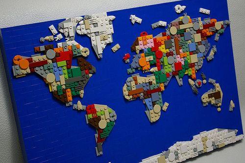 World map legos y cosas mapas del mundo legos aparejo educacin de nios estudios sociales salas de juegos marcos decoracin del saln gumiabroncs Images