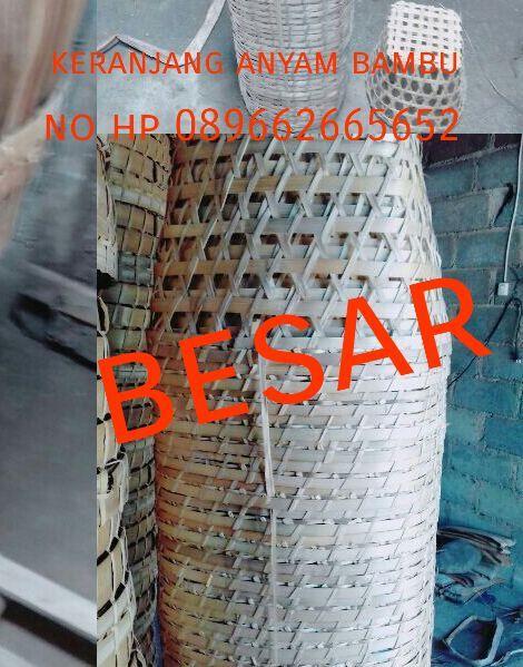 Anyaman Dari Bambu Kriya Anyaman Usaha Kerajinan Bambu
