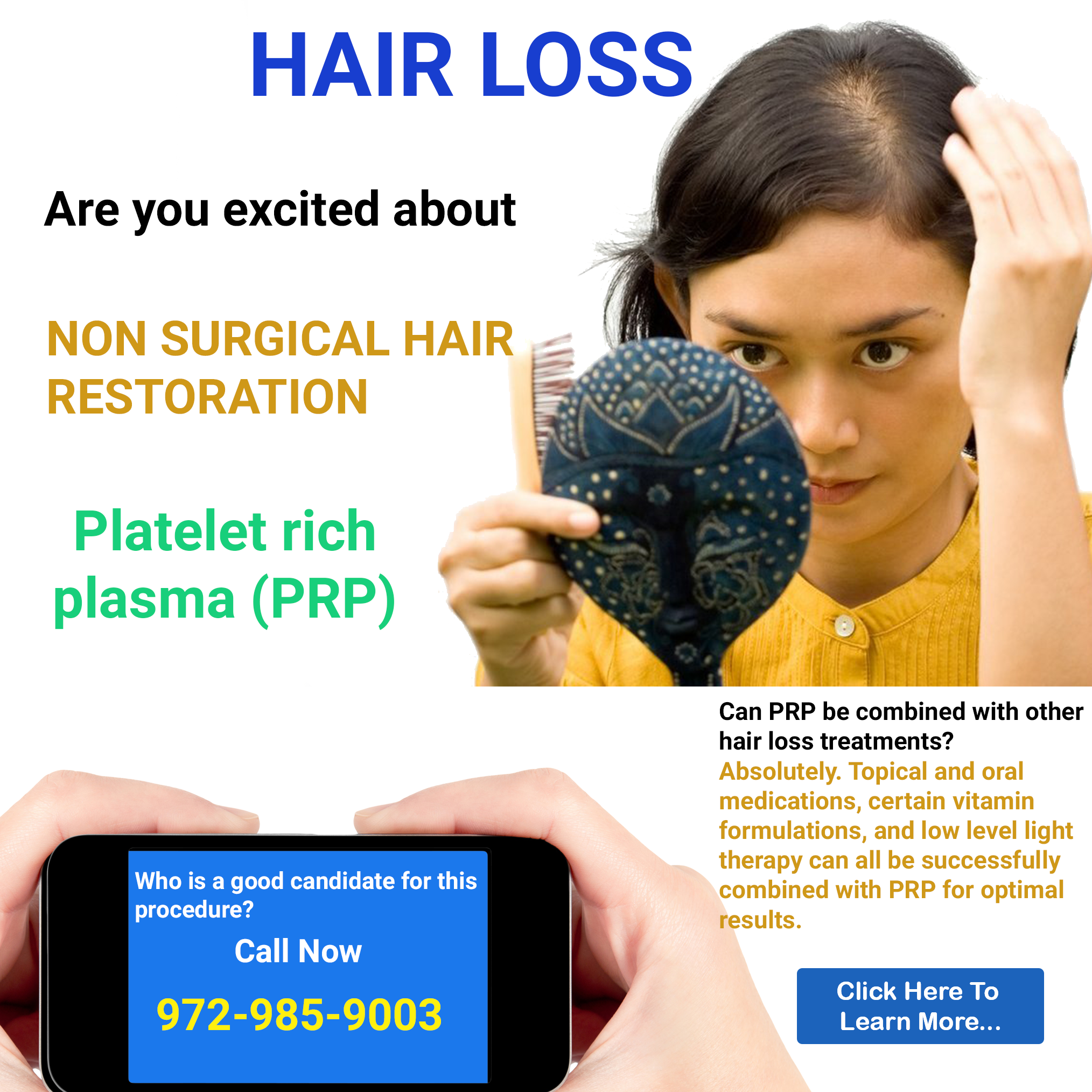 What Your Need to Know About Non-Surgical Hair Restoration ...