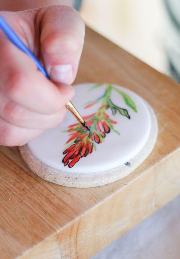 Wildflower Fondant Cookies Charming Diy Ideas Cookies Sugar