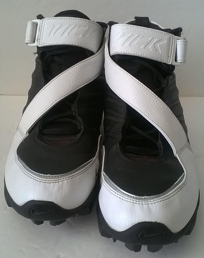 new styles e2a89 48186 Nike Men s Michael Vick III Shark Football Cleats 313410-011 Size 10  Nike   Cleats