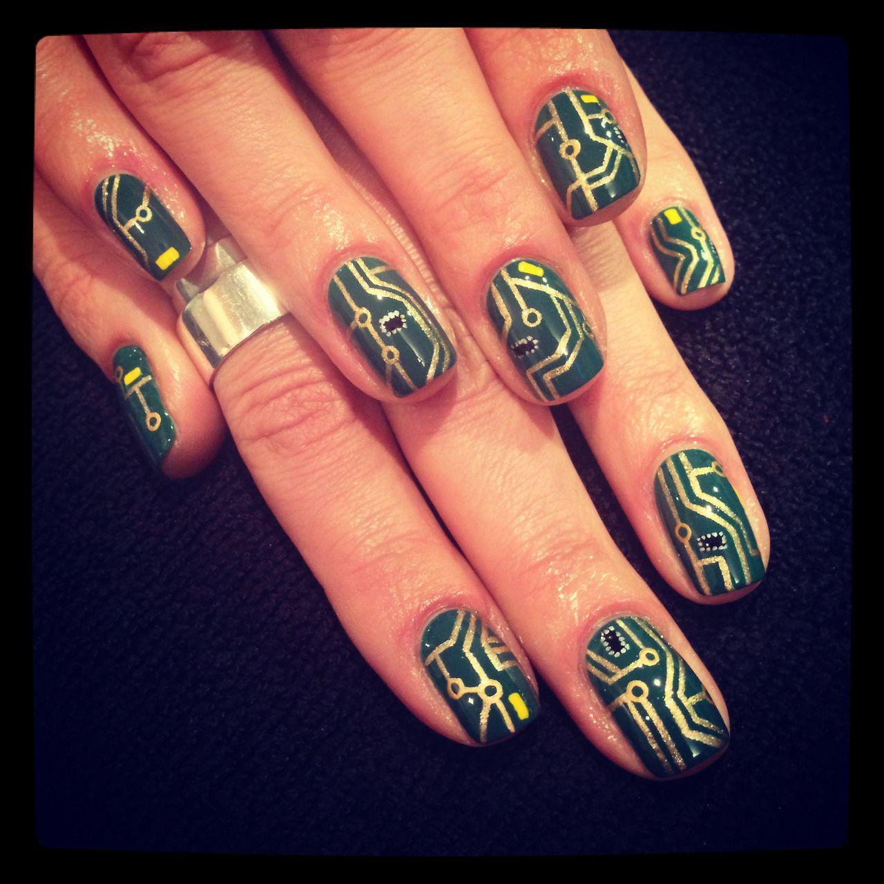 Short circuit nails by the illustrated nail | Nails | Pinterest ...