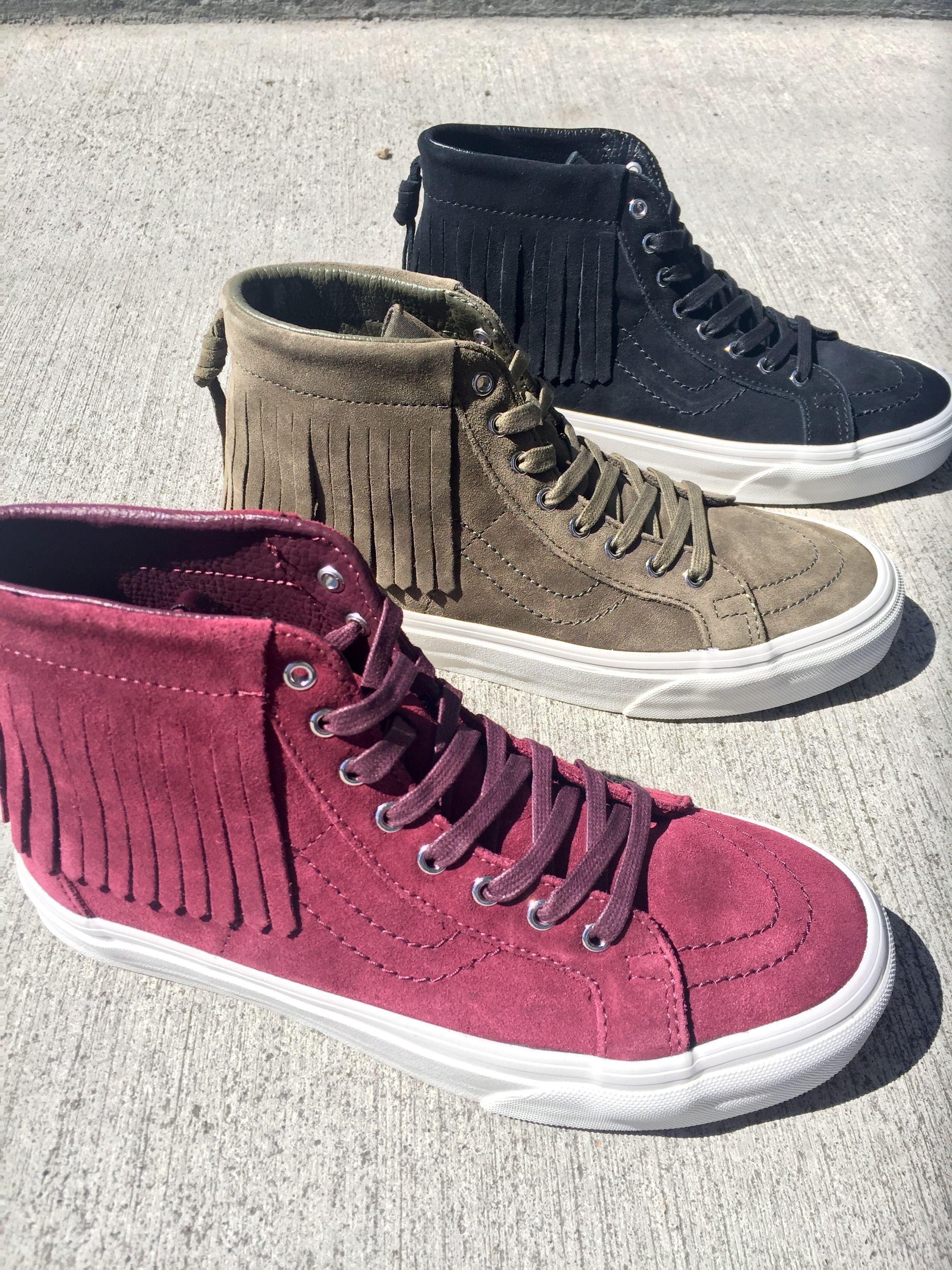 Vans Sk8-Hi Port Royale Moc Shoes (Women s) 558bf40bc0f