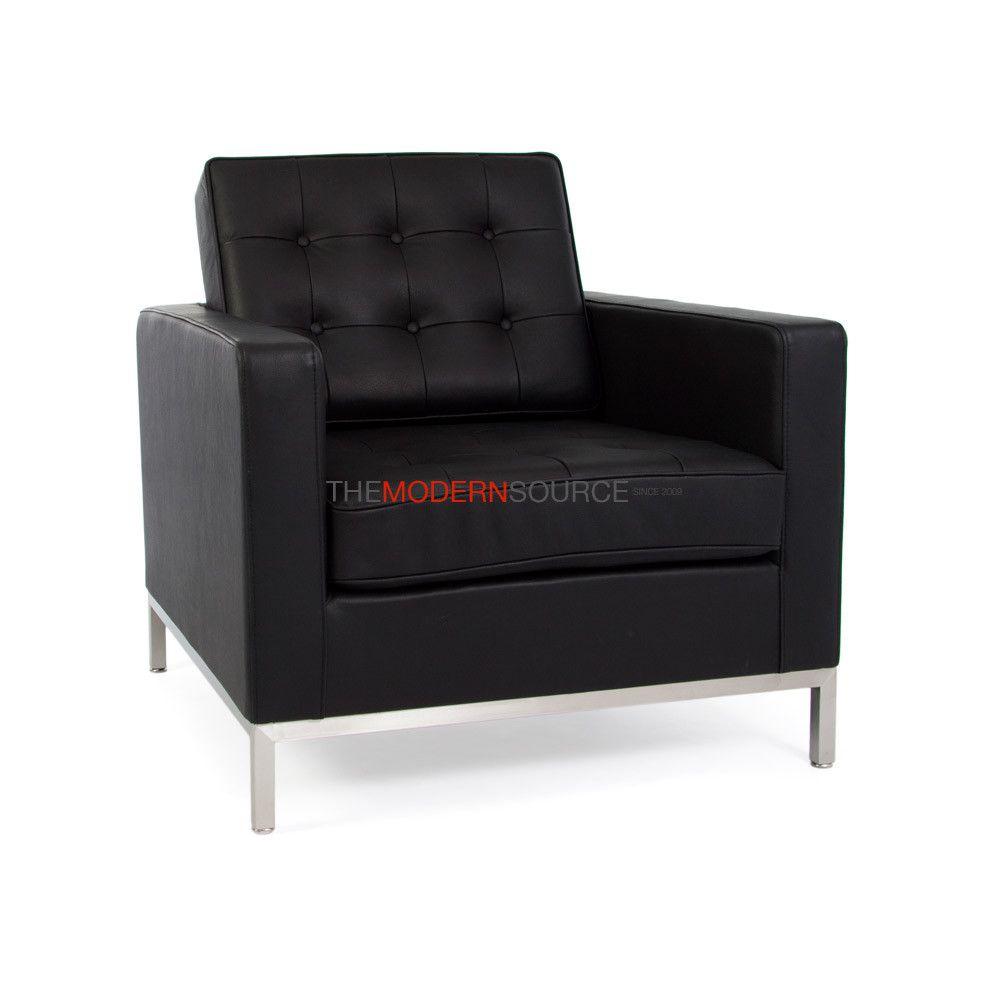 Florence Knoll Chair (Leather)  #modernsource #furniture #loungechairs #homedecor #interiordesigning www.modern-source...