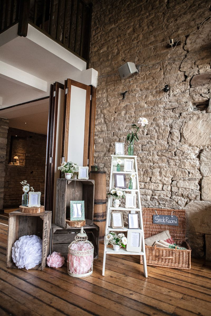 A Pretty Barn Wedding In The Cotswolds At The Great Tythe ...