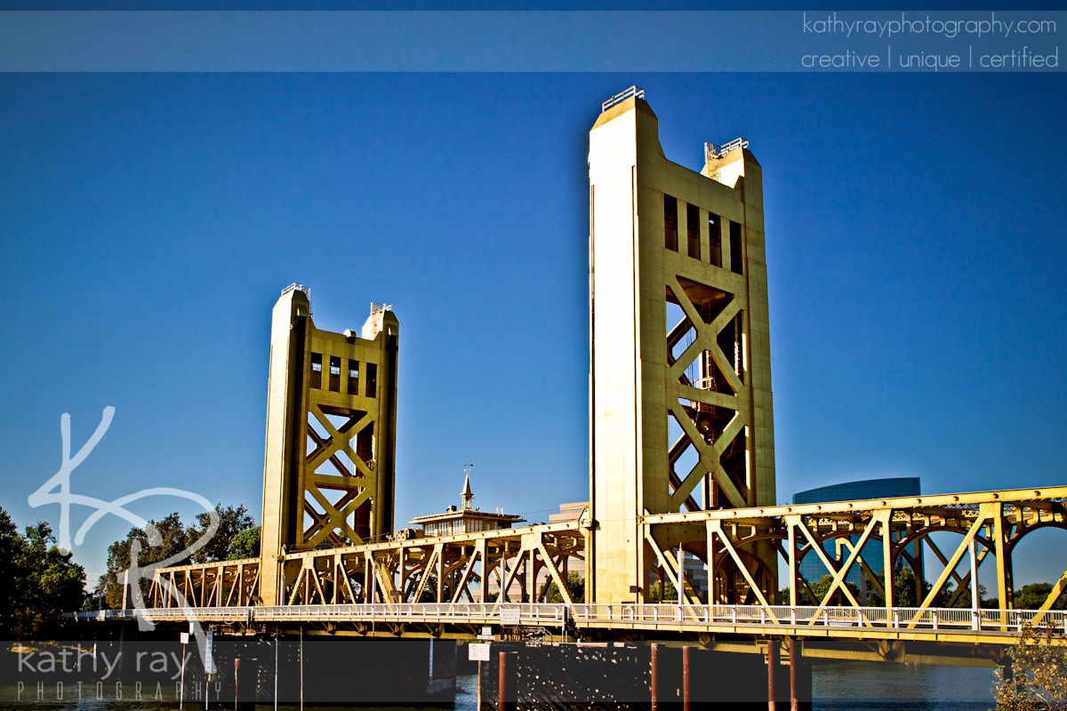 Sacramento River Bridge Sac Waterfront from Embassy Suites | Artsy ...