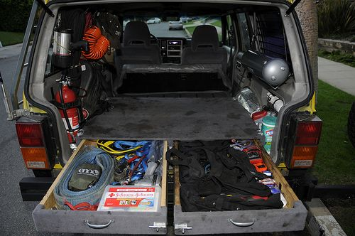 Xj Interior Mods Whatcha Got Page 12 Cargo Area Remolques Carros Y