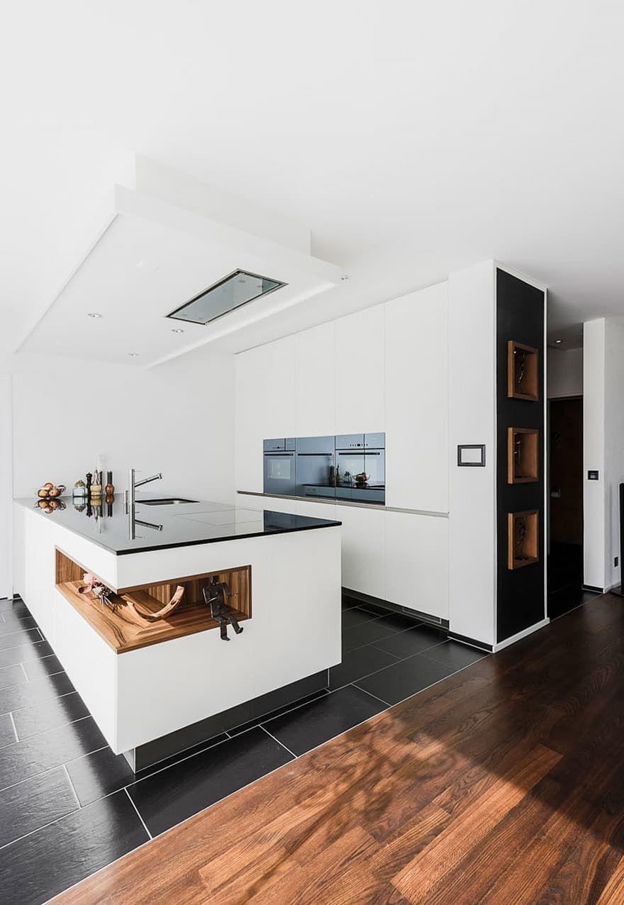 GEKNICKT moderne Küche von Hunkeler Partner Architekten AG ...