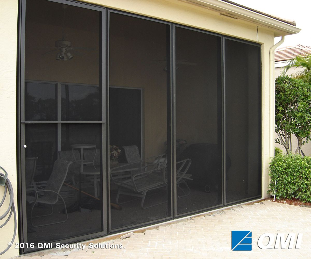 Homesafe screens qmi security shutters with images