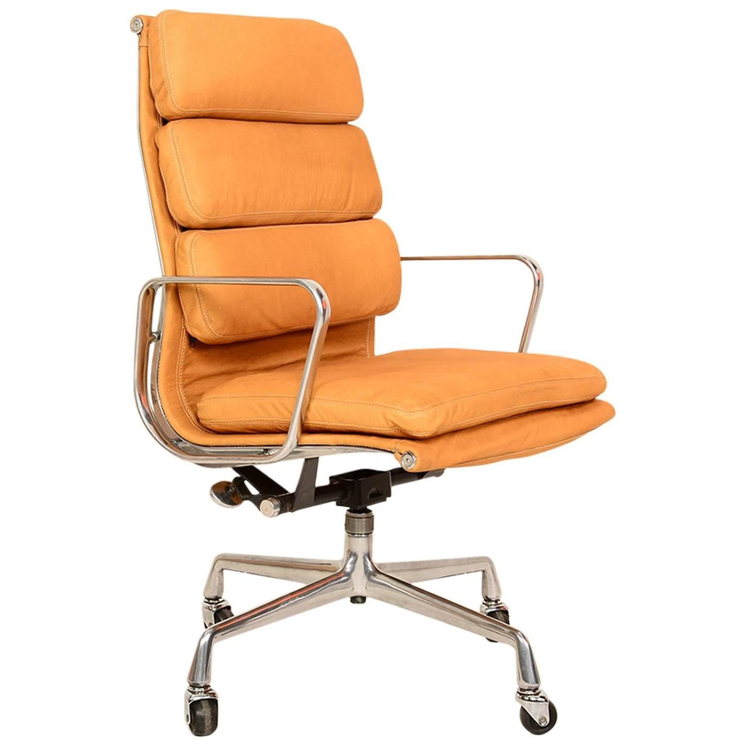 Executive Soft Pad Chair by Eames for Herman Miller  sc 1 th 225 & Executive Soft Pad Chair by Eames for Herman Miller | Herman miller