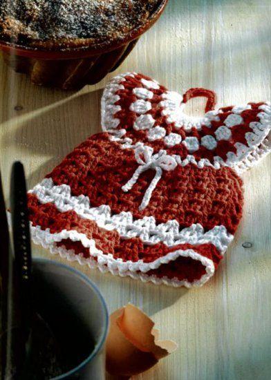 Easy To Crochet Potholders : Maggie Weldon, Free Crochet Patterns ...