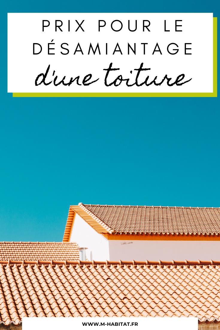 Prix pour le désamiantage d'une toiture en 2020   Toiture, Toiture tuile, Charpente