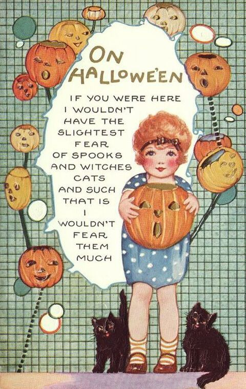 Vintage Halloween Images | Condition Free | Entirely Public
