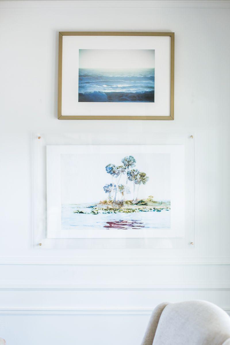 Home interior frames acrylic frame highland hardware home decor inspiration gallery