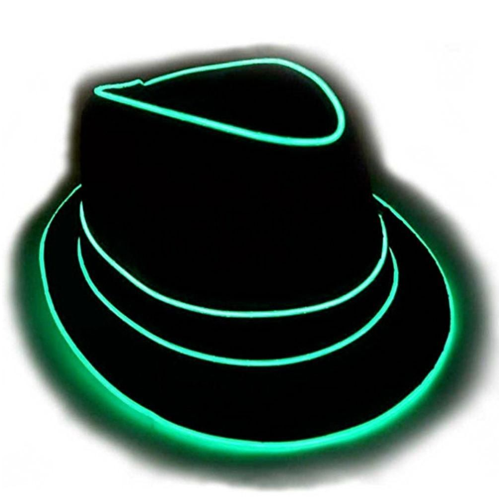 GlowCity Portable  amp  Brightest Light Up Party Style Flashing Fedora Hats  These are High Quality 97972886571