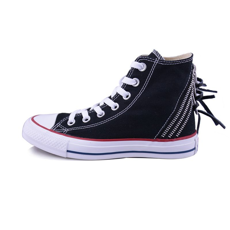 f6912ec39449  converse converse new autumn and winter woman zipper All Star high-top  shoes 547206C