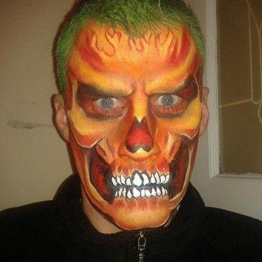 Fiery Demon by Anita Kinsella | Face design/ person's of