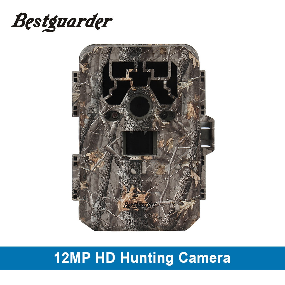 "87.89$  Buy here - http://ali9nd.worldwells.pw/go.php?t=32787612584 - ""Bestguarder 12mp Wild Camera HD 1080P Game Scouting IR Hunting gps camcorder IP66 75ft 2.0"""" TFT LCD Display chasse	 Infrared Cam"""