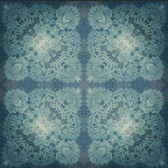 French Chantilly lace nicola yeung symmetry pattern