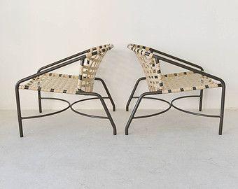 3de94cb4feeb4 SALE! Pair of Original Brown Jordan Kantan Lounge Chairs by Tadao ...